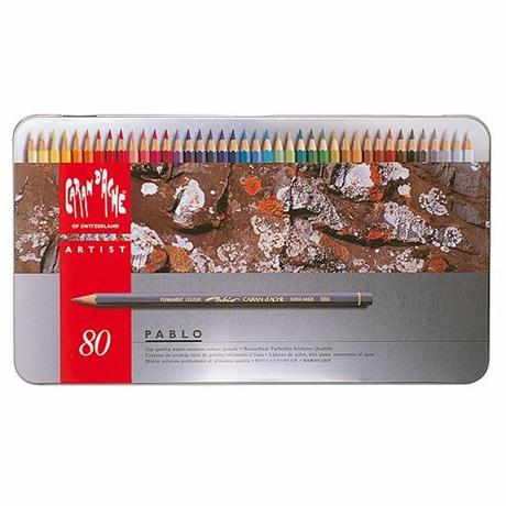 Pablo Tin of 80 Pencils Image 1