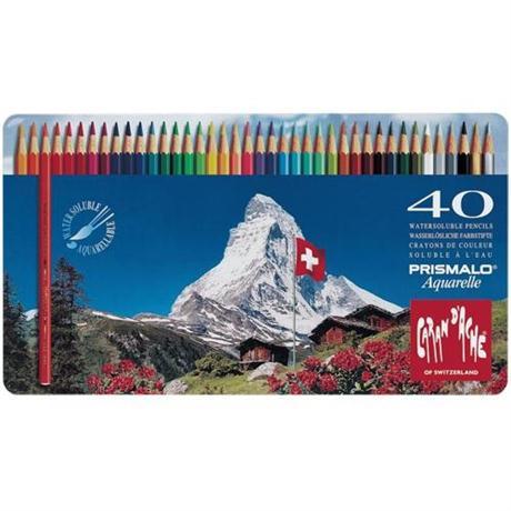 Prismalo Tin of 40 Pencils Image 1