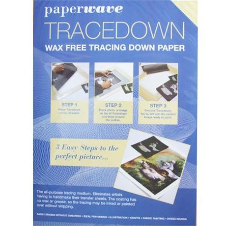 Tracedown Transfer Paper A3 Pack of 5 Sheets Image 1