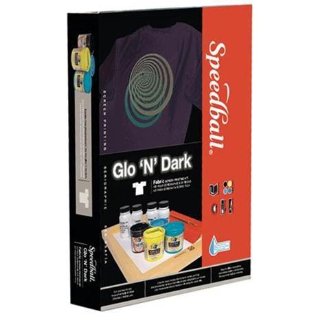 Speedball Glow 'N' Dark Screen Printing Kit Image 1