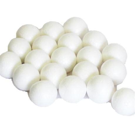 Pack of Polystyrene Foam Balls 25mm Diameter Image 1