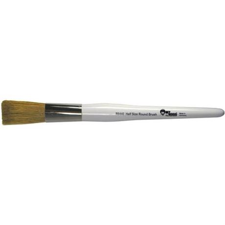 Bob Ross Half Size Round Foliage Brush Image 1