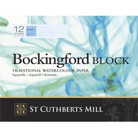 Bockingford Watercolour Blocks 140lbs / 300gsm 'NOT' Image 1