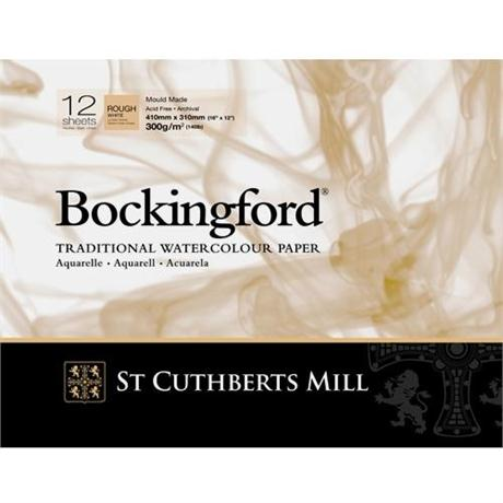 Bockingford Glued Watercolour Pads 140lbs / 300gsm 'Rough' Image 1