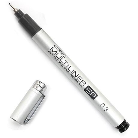 Copic Multiliner SP Black Fineliner Pens
