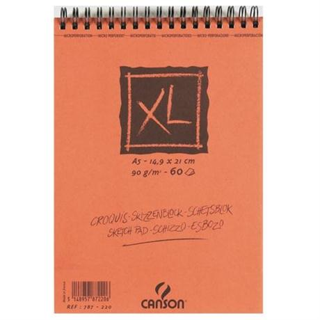 Canson XL Spiral Sketch Pads 90gsm Image 1