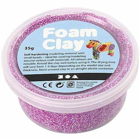 Foam Clay 35g Pots Single Colours Image 1