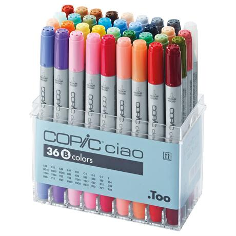 Copic Ciao Marker Set of 36 - Set B Image 1