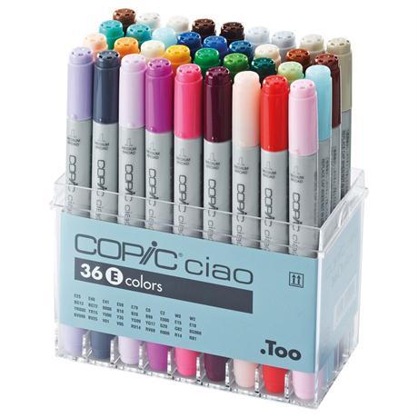 Copic Ciao Marker Set of 36 - Set E Image 1