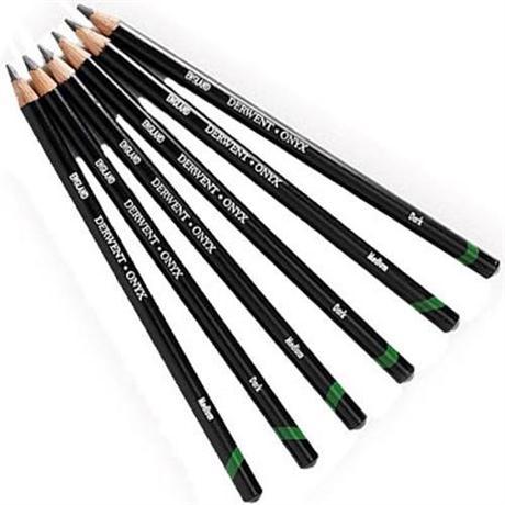 Derwent Onyx Graphite Pencils Image 1
