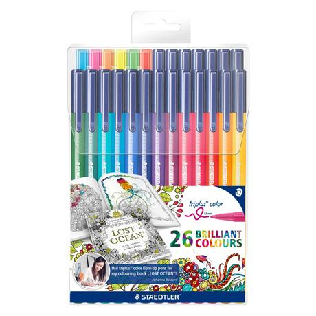 Staedtler Triplus Colour Pack Of 26 (Lost Ocean Special Edition) Image 1