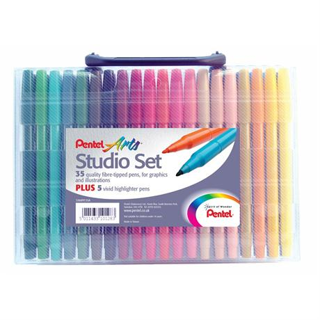 Pentel Studio Pen Set Image 1
