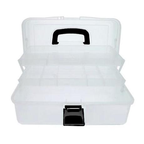Empty Transparent Caddy - Art Tool Box Image 1