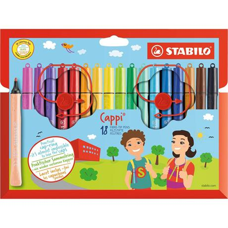Stabilo Cappi Wallet of 18 Image 1