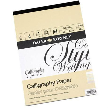 Daler Rowney Calligraphy Pad Image 1