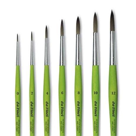 da Vinci Series 373 Hobby & School Brushes Round Image 1