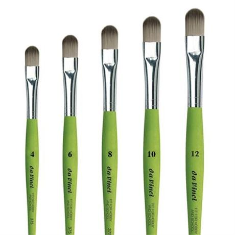 da Vinci Series 375 Hobby & School Brushes Filbert Image 1