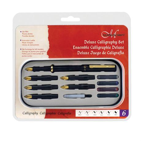 Manuscript Deluxe Calligraphy Set Left Handed Image 1