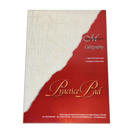Manuscript Calligraphy Practice Pad Image 1