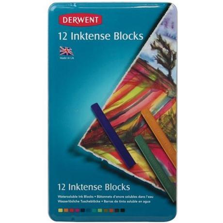Inktense Block Tin of 12 Image 1