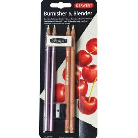 Derwent Burnisher & Blender Set Image 1