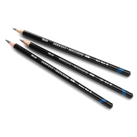 Derwent Watersoluble Sketching Pencils - Individual grades Image 1