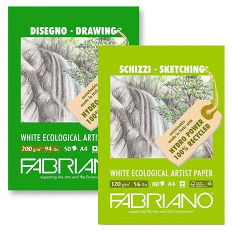 Fabriano Eco Recycled Sketch Pads Image 1