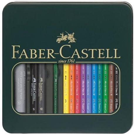 Faber Castell Albrecht Durer & Pitt Pen Mixed Media Set Image 1
