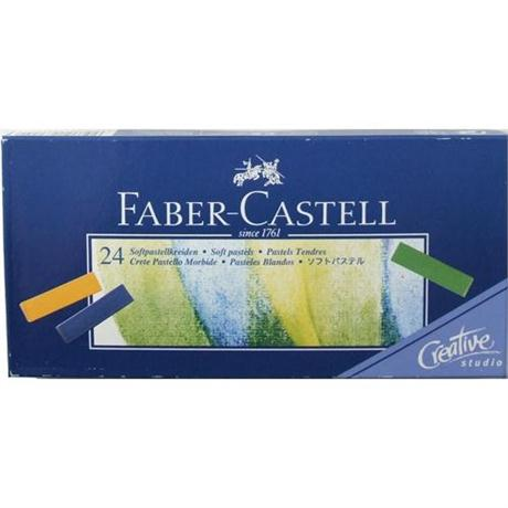 Creative Studio Soft Pastels 24 Sticks Image 1