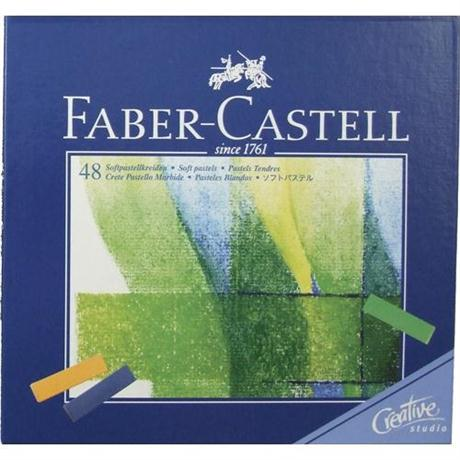 Creative Studio Soft Pastels 48 Sticks Image 1