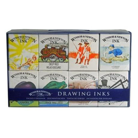 Winsor & Newton William Collection Drawing Ink Set Image 1