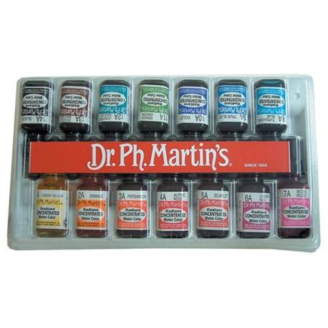 Dr. Ph. Martin's Radiant Ink Set A 15ml Image 1