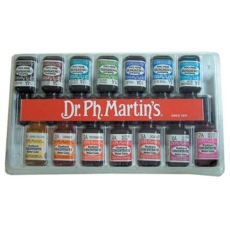 Dr. Ph. Martin's Radiant Ink Set D 15ml Image 1