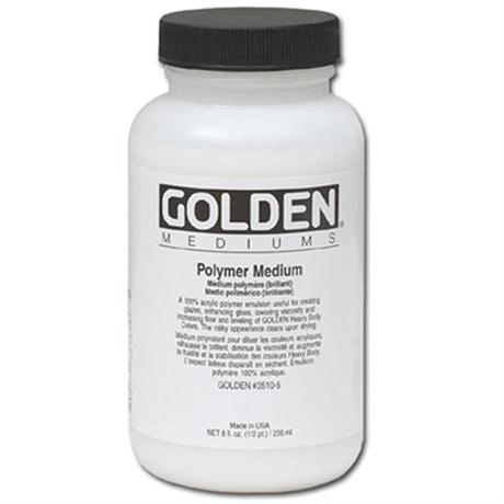 Golden Polymer Medium - 236ml Image 1