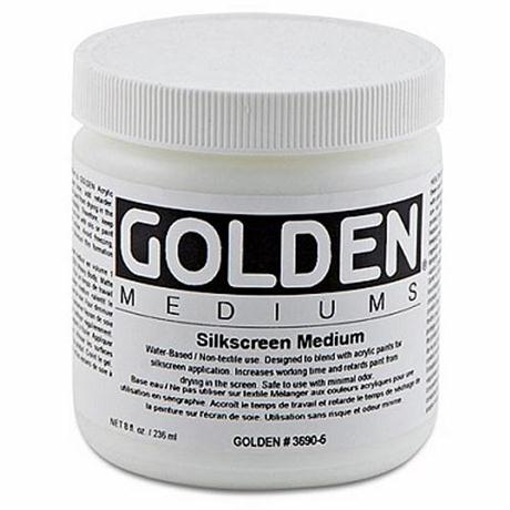 Golden Silk Screen Medium - 473ml Image 1