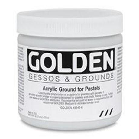 Golden Acrylic Ground For Pastels - 236ml Pot Image 1