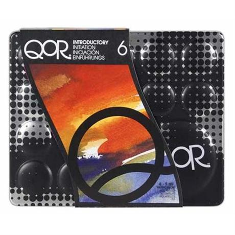QoR Watercolour 6 x 5ml Intro Set Image 1