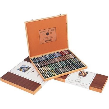 Sennelier Soft Pastel Wooden Box 50 Classic Image 1