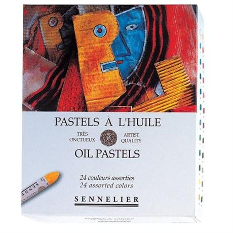 Sennelier Oil Pastels 24 Assorted Colours Image 1