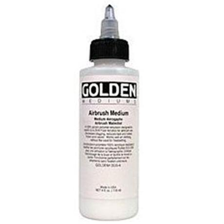 Golden Airbrush Medium Image 1