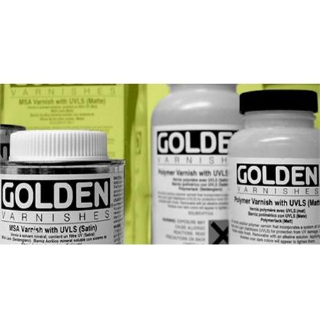 Golden Polymer Varnishes Image 1
