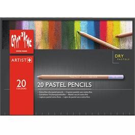 Caran d Ache Pastel Pencils 20 Assorted Set Thumbnail Image 1