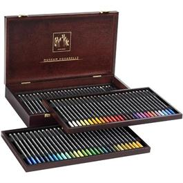 Caran d'Ache Wooden Box Of 76 Museum Aquarelle Pencils thumbnail