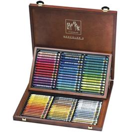 Caran d Ache Wooden Box Of 84 Neocolor II thumbnail