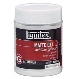 Liquitex Matt Gel Medium 237ml Jar thumbnail