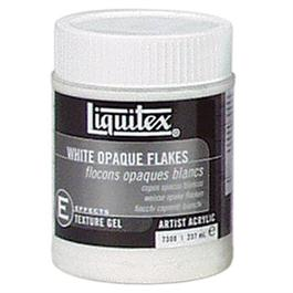 Liquitex White Opaque Flakes Medium 237ml Jar Thumbnail Image 0