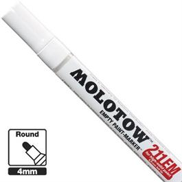 Molotow 211EM - Empty ONE4ALL Paint Marker 4mm Round Nib thumbnail