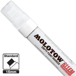 Molotow 611EM - Empty ONE4ALL Paint Marker 15mm Chisel Nib thumbnail