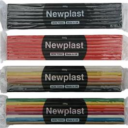Newplast Non Drying Modelling Clay 500g Blocks thumbnail