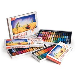 Inscribe Soft Pastel Set - 24 Colours - Half Sticks thumbnail